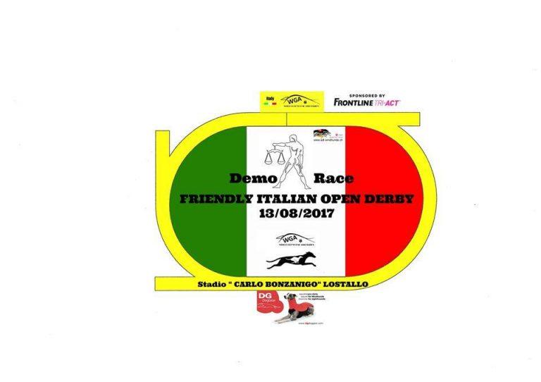 Demo Gewichtsrennen Italian Derby